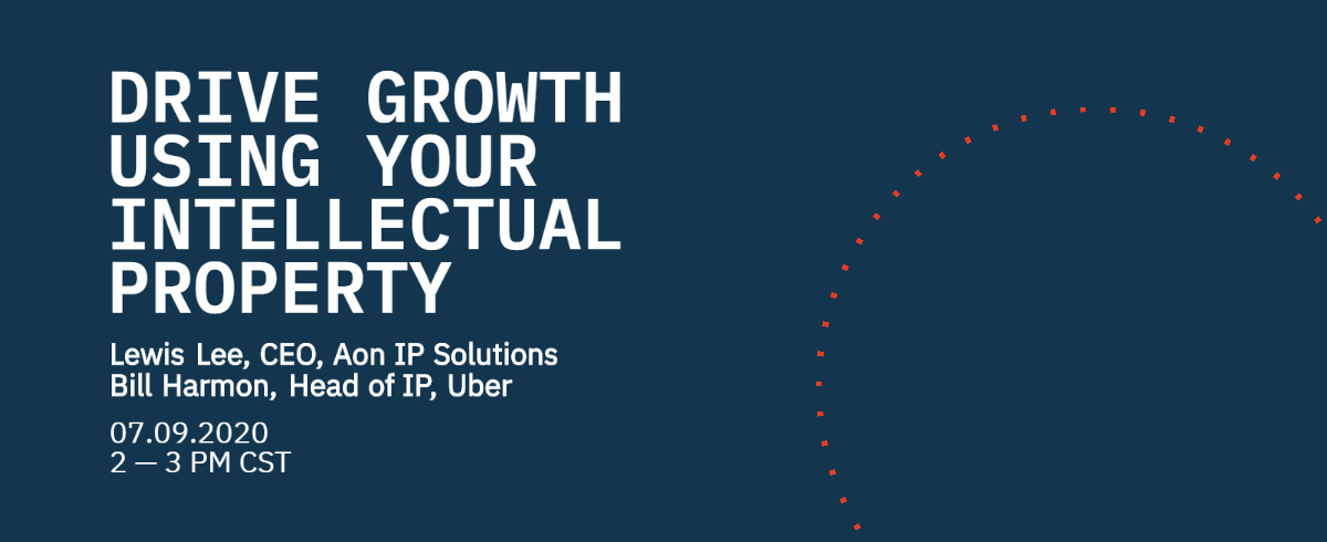 [VIRTUAL] Drive Growth Using Your Intellectual Property
