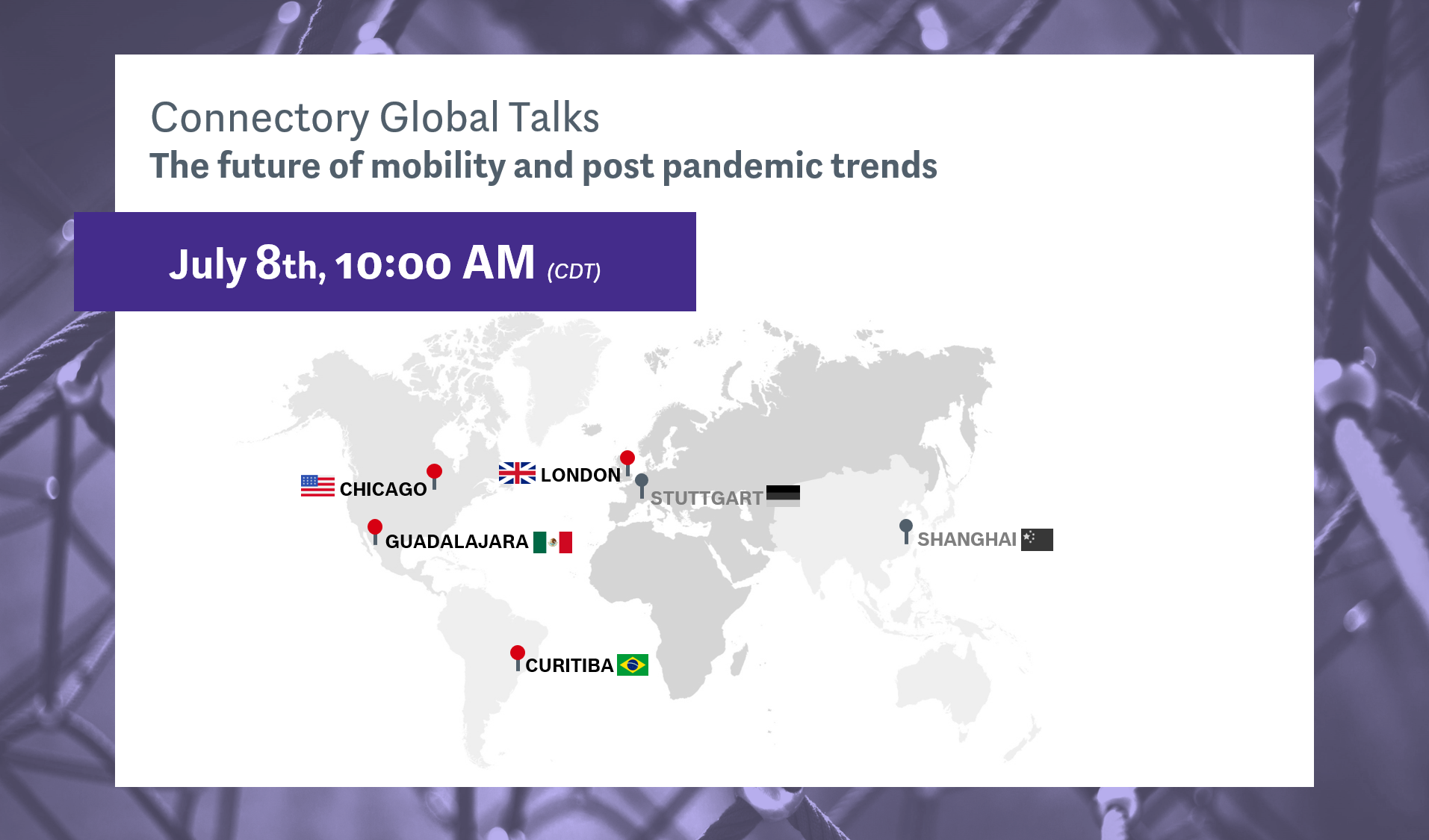 Connectory Global Talks: The future of mobility and post pandemic trends